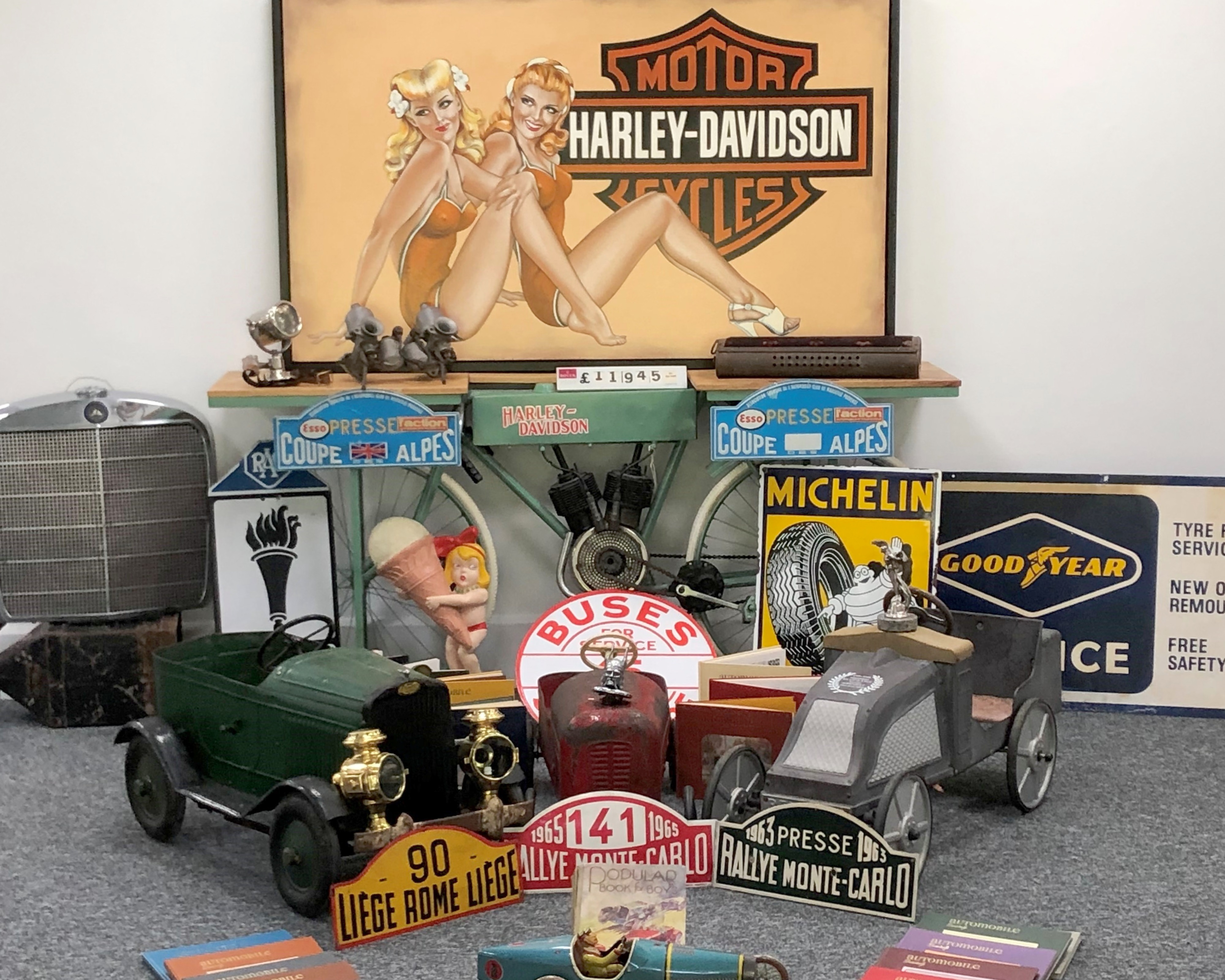 The Summer 2021 Timed Automobilia Auction
