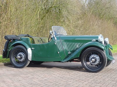 Lot 1934 Singer Nine Four-Seater