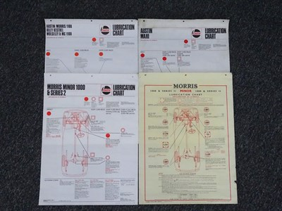 Lot 2 - Four Castrol lubrication charts