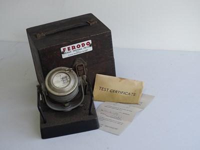 Lot 5 - Ferodo brake testing meter