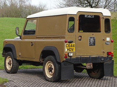 Lot 1986 Land Rover 90 V8 Commercial