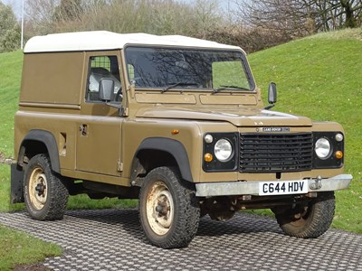 Lot 1986 Land Rover 90 V8 Commercial