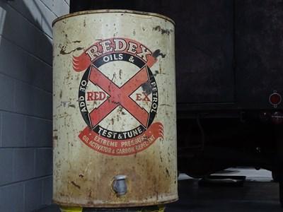 Lot 21 - Redex oils 10 gallon container