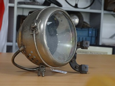 Lot 23 - French carbide spot lamp