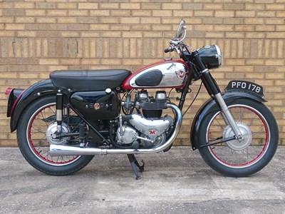 Lot 44 - 1957 Matchless G11