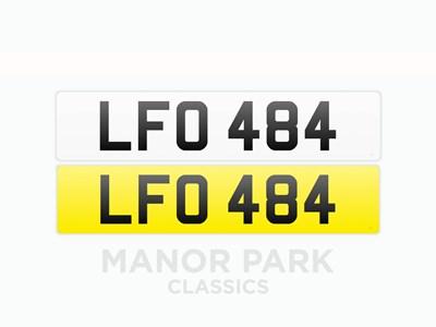 Lot 35 - Registration Number 'LFO 484'
