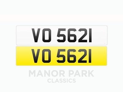 Lot 36 - Registration Number 'VO 5621'