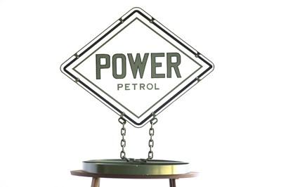 Lot 28 - Power petrol forecourt representation sign