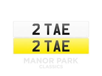 Lot Registration Number '2 TAE'