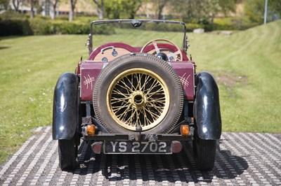 Lot 1935 Singer Nine Le Mans Speed Special Model