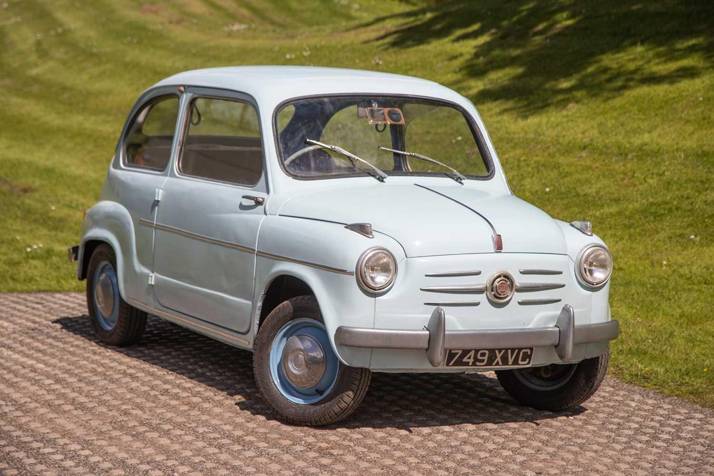 Lot 1957 Fiat 600 D Berlina