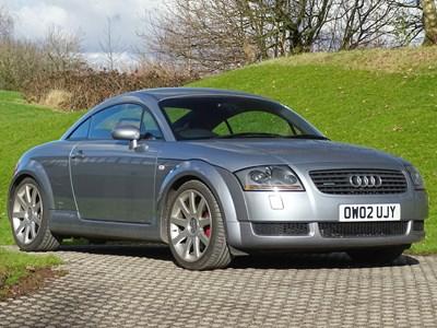 Lot 2002 Audi TT Quattro 225bhp