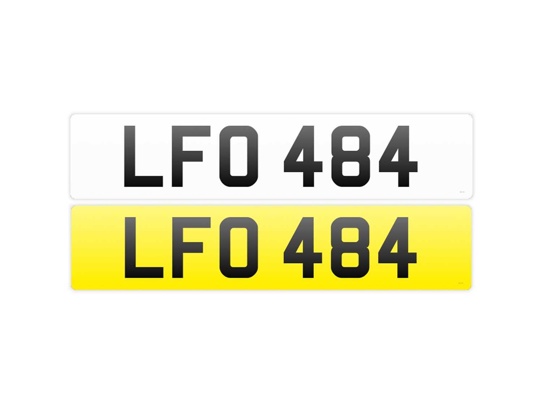 Lot Registration Number 'LFO 484'