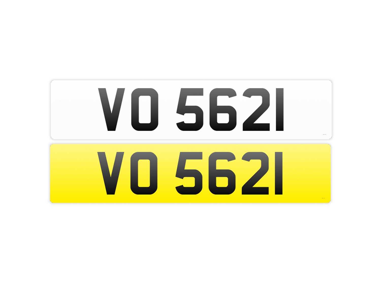 Lot Registration Number 'VO 5621'