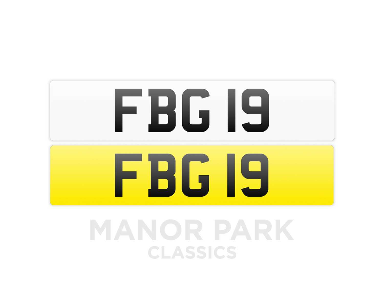 Lot Registration Number 'FBG 19'