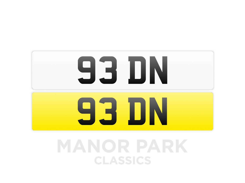 Lot Registration Number '93 DN'