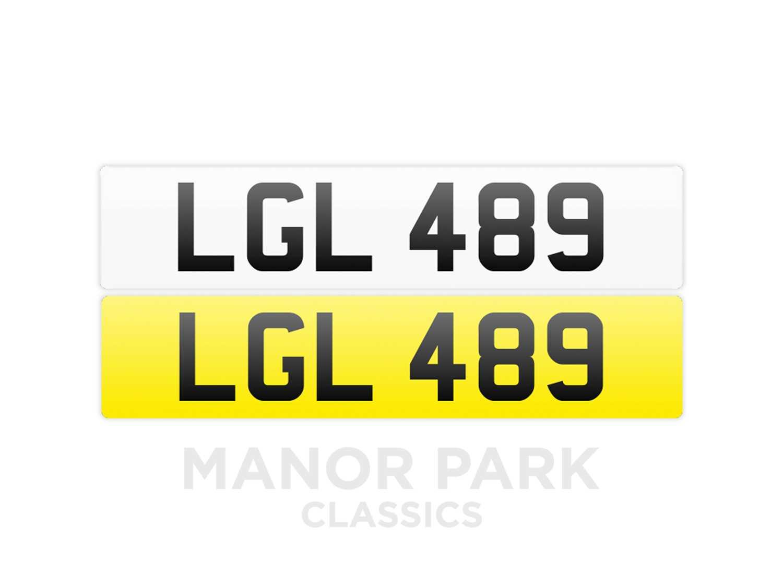 Lot Registration Number 'LGL 489'