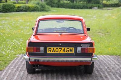 Lot 1974 Triumph TR6