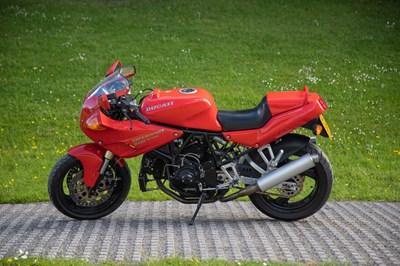 Lot 1993 Ducati 900 SS CR