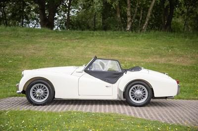 Lot 1957 Triumph TR3