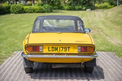 Lot 7 - 1979 Triumph Spitfire 1500
