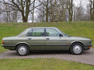 Lot 123 - 1986 BMW 520i