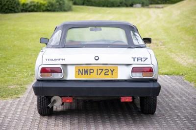 Lot 10 - 1982 Triumph TR7 Convertible