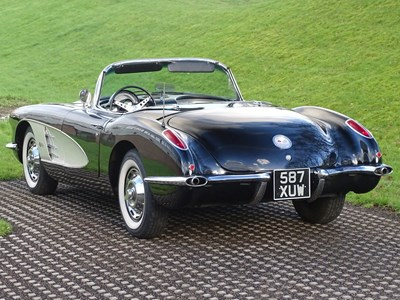 Lot 1960 Chevrolet Corvette C1