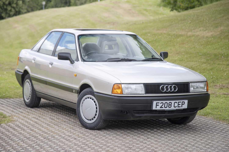 Lot 80 - 1989 Audi 80 S