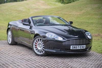 Lot 26 - 2007 Aston Martin DB9 Volante