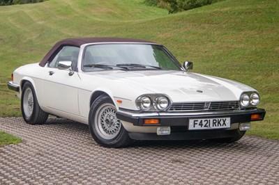 Lot 14 - 1988 Jaguar XJ-S 5.3 Convertible