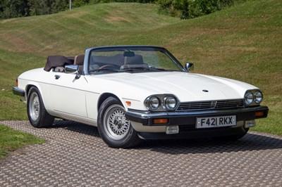 Lot 1988 Jaguar XJ-S 5.3 Convertible