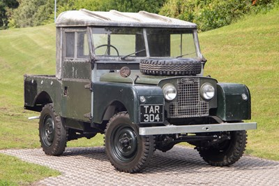 Lot 1954 Land Rover series 1 86 inch
