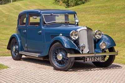 Lot 24 - 1935 Rover 12 Sportsman Saloon