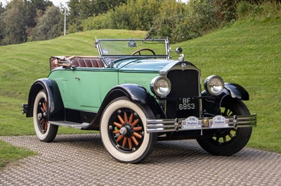 Lot 25 - 1928 Buick Master Six Roadster with Dickey Seat