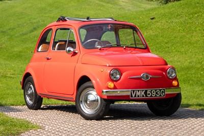 Lot 4 - 1968 Fiat 500 F