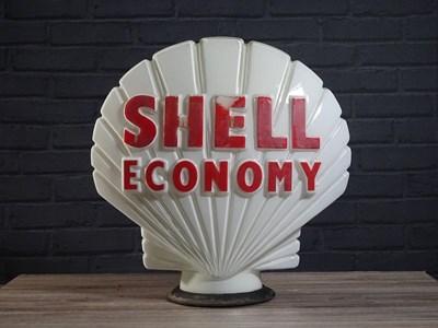 Lot 44 - Shell Economy original 1960's glass globe