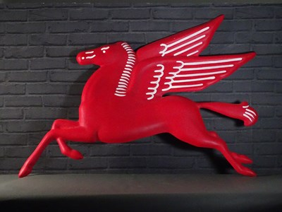 Lot 48 - 52inch Pegasus Horse from America