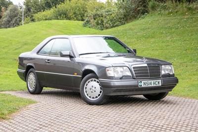 Lot 1 - 1995 Mercedes-Benz E 220 Coupe
