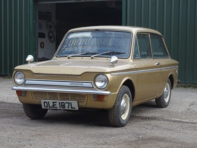 Lot 4 - 1972 Hillman Imp Super