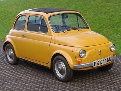 Lot 1972 Fiat 500 L