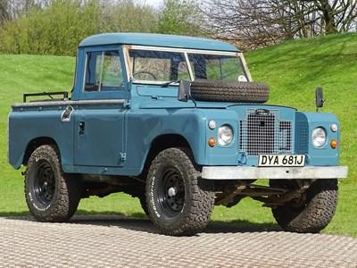 Lot 47 - 1971 Land Rover 88 Series IIA