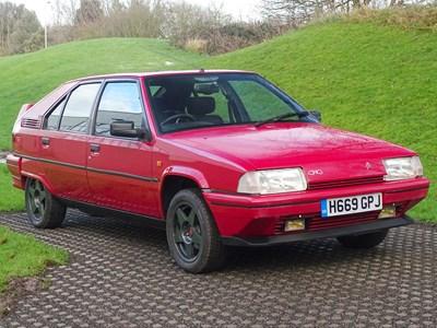 Lot 1990 Citroen BX GTi 4X4
