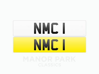 Lot 38 - Registration Number 'NMC 1'