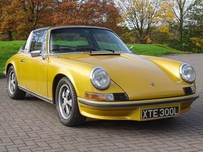 Lot 1973 Porsche 911 E 2.4 Targa