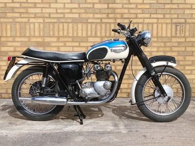 Lot 45 - 1967 Triumph T100SS Tiger